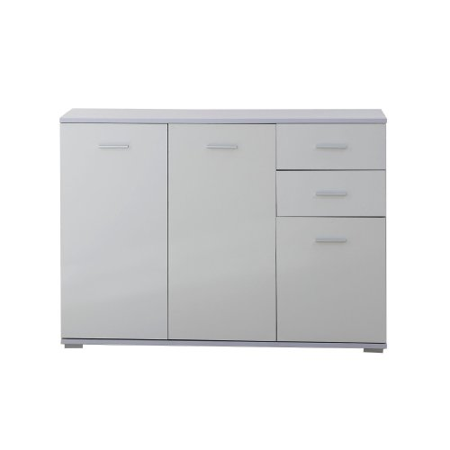 Homcom High Gloss Fronted Sideboard