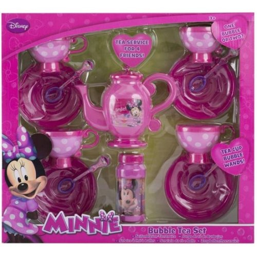 Disney Minnie Mouse 'Bubble Tea Set' Play Set 14 Piece Toy