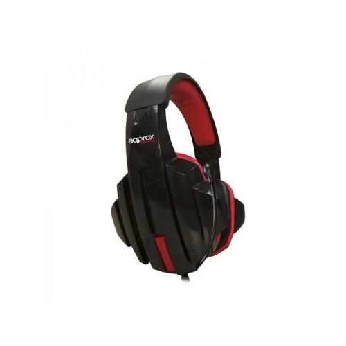 Approx Appskull Binaural Head-band Black,red Headset