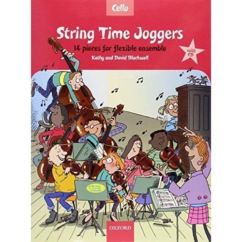 String Time Joggers Cello book + CD 14 pieces for flexible ensemble (String Time Ensembles)