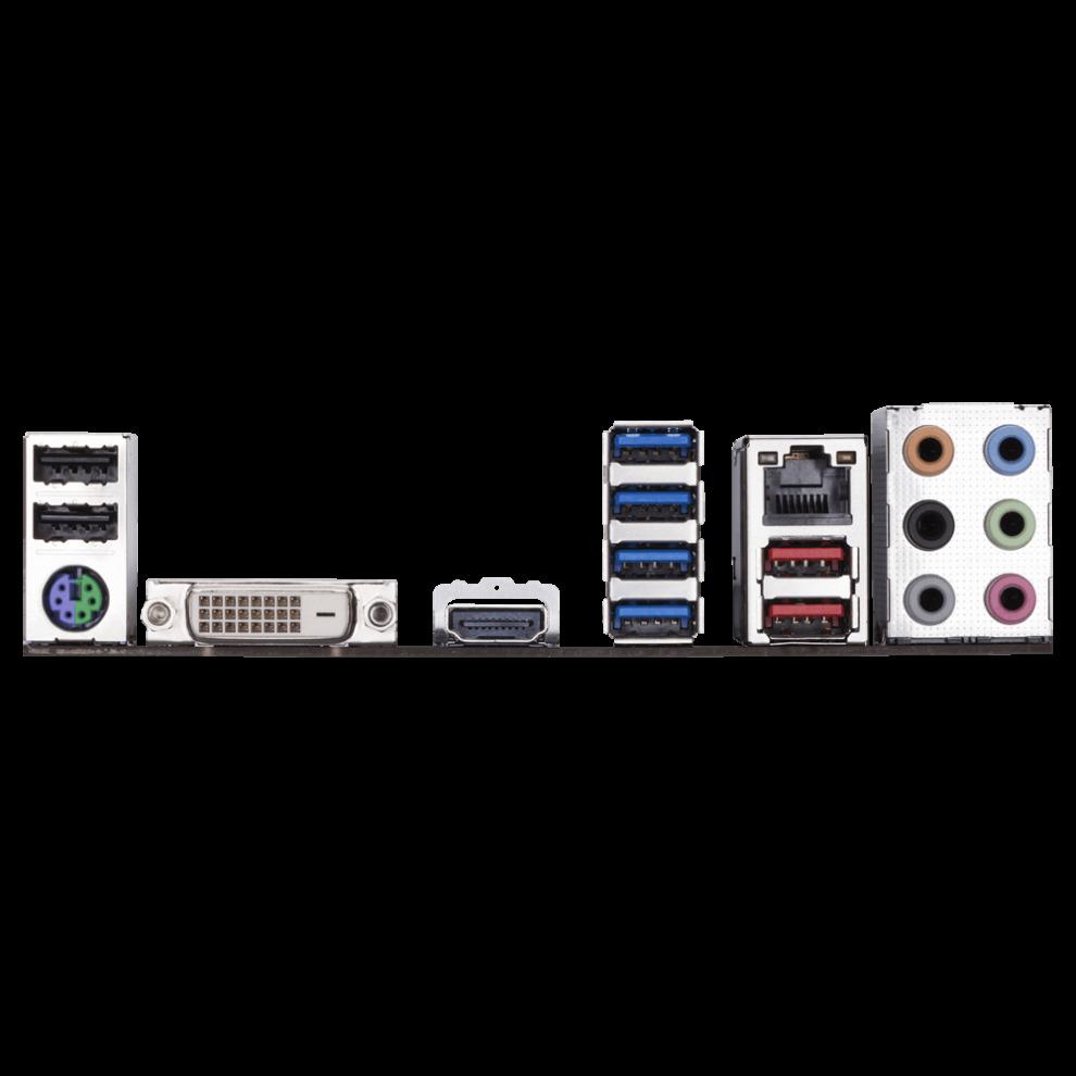 Fierce HAWK Gaming PC, Fast AMD Ryzen 7 2700X 4 3GHz, 2TB SSHD, 16GB RAM,  NVIDIA GTX 1660 Ti 6GB (904340)