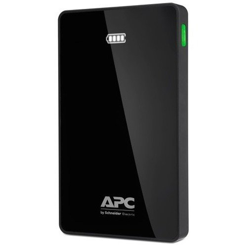 Apc Power Pack M10 Lithium Polymer (lipo) 10000mah Black Power Bank