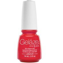 Gelaze UV Gel Nail Polish Red-y To Rave