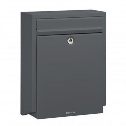 Brabantia B100 Post Box - Anthracite Grey