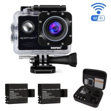 APEMAN Waterproof Action Camera  1080P 14MP Wi-Fi 2.0'' LCD Screen