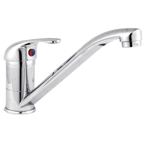 Mono Kitchen Mixer Tap - Chrome | Modern Kitchen Sink Tap