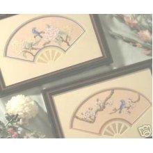 Fanfare Cross Stitch Chart - 2 Oriental Designs