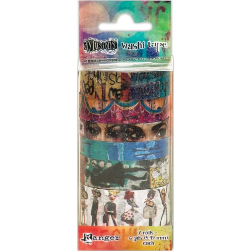 Dyan Reaveley's Dylusions Washi Tape Set-Set #2-7 Rolls