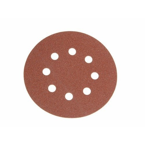Faithfull FAIAD12560H Aluminium Oxide Disc DID3 Holed 125mm x 60g (Pack of 25)