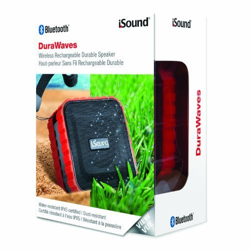 iSound DuraWaves Bluetooth Speaker red