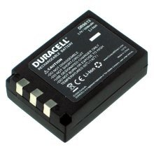 Duracell Camera Battery 3.7v 1050mAh 3.9Wh Lithium-Ion (Li-Ion) 1050mAh 3.7V rechargeable battery