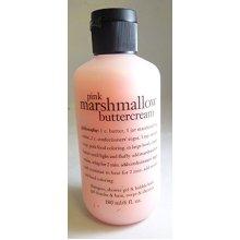 Philosophy Pink Marshmallow Buttercream Shampoo, Shower Gel & Bubble Bath 6 Oz.
