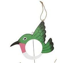 Roots & Shoots Novelty Bird Shaped Fatball Bird Feeder (green) -