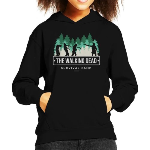 Survival Camp The Walking Dead Kid's Hooded Sweatshirt