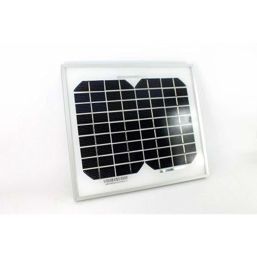 PK Green Solar Panel 5W 12V Monocrystalline for Caravan Camping Boat Shed Motorhome