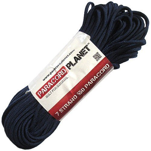 Paracord Planet 100 550Lb Type Iii Midnight Blue Paracord