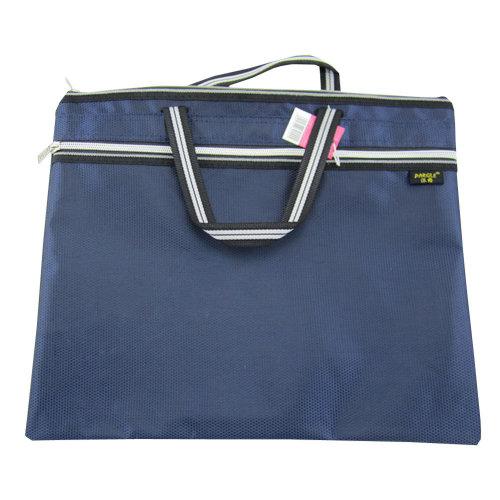 Oxford Leisure Conference Document Bag Laptop Bag Briefcase (30.5 x 36.8cm) BLUE