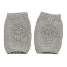 Cute Cotton Baby Leg Warmers Knee Pads/Protect- Gray