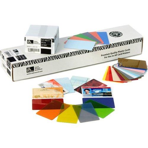 Zebra Premier PVC 15 mil (500) 500pc(s) business card