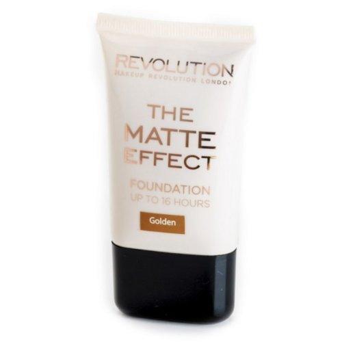 Makeup Revolution Matte Effect Foundation | Golden