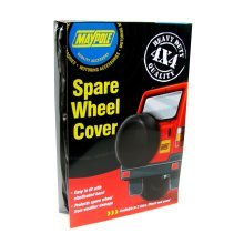 "28"" 4x4 Spare Wheel Cover - Maypole 28inch New -  wheel cover maypole spare 4x4 28inch new"