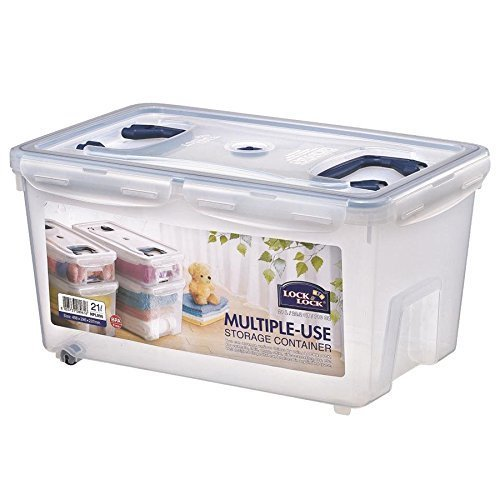 Lock & Lock HPL896 Multi-Use Food Container 21 L with 2 Handles