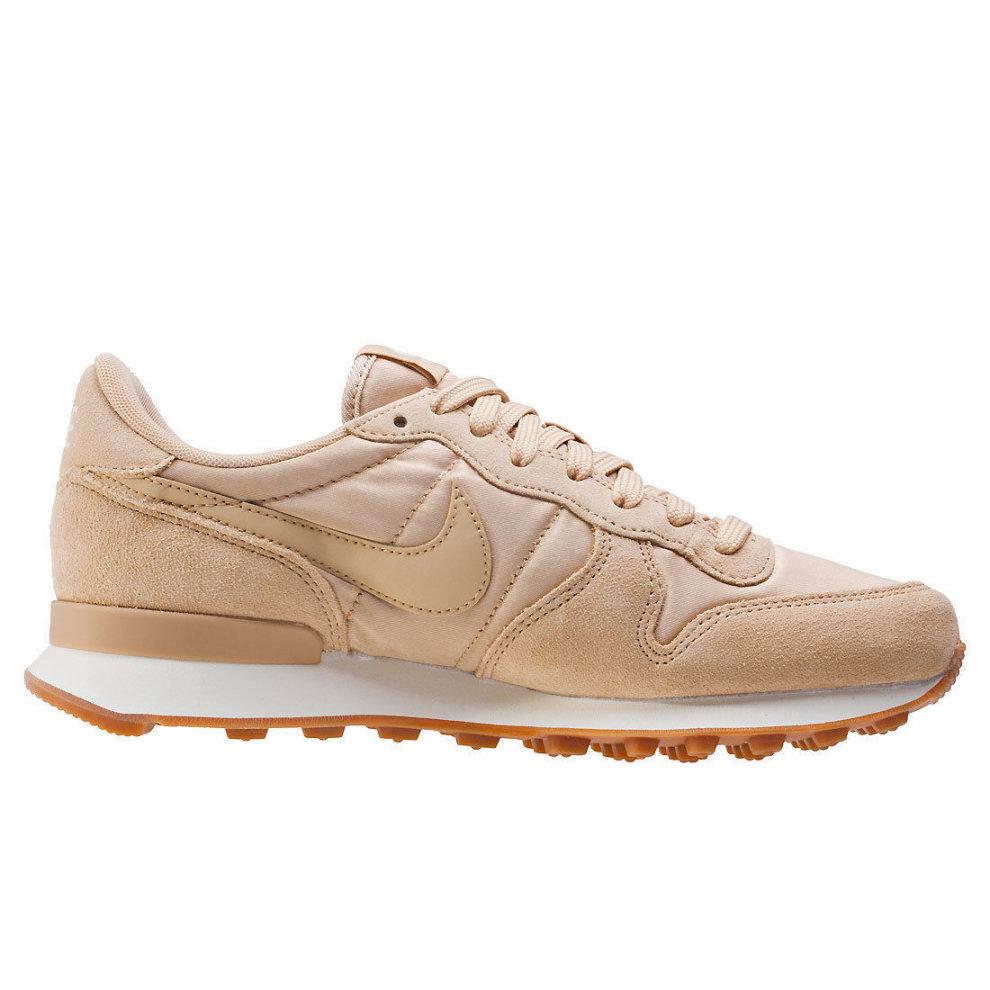 pretty nice 2b764 67da4 New Womens Nike Internationalist Trainers Beige 828407 202 on OnBuy