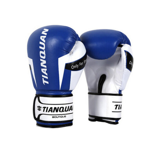 Strong Boxing Fighting blue Gloves Training Gloves Sandbag Gloves