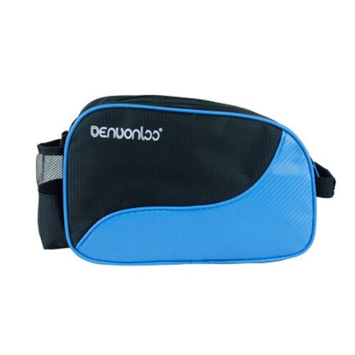 Waterproof Table Tennis Racket Case PingPong Bat Cover Paddle Bag - Sky Blue