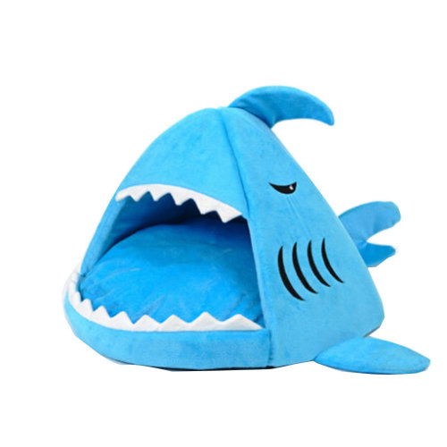 [Great White Shark] Pet Nest Dog Cat Pet House,Cat Bed(42*42*37CM)