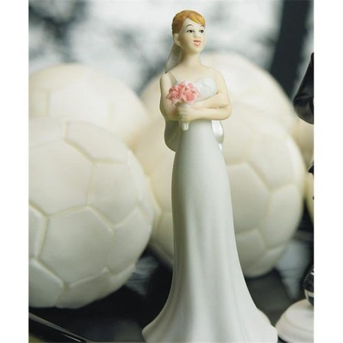 Weddingstar 7097 Exasperated Bride Mix & Match Cake Topper- Caucasian- Bride Only