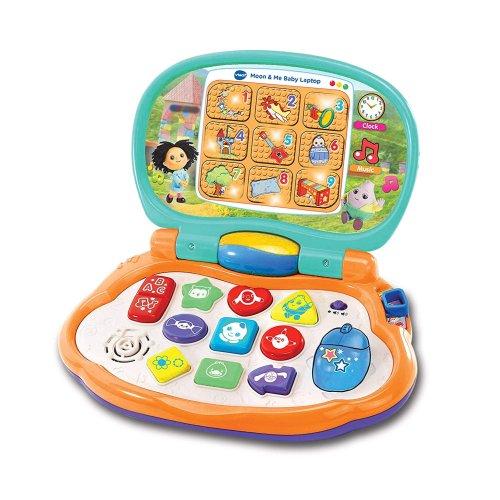 Vtech Moon & Me Press & Play Baby Laptop