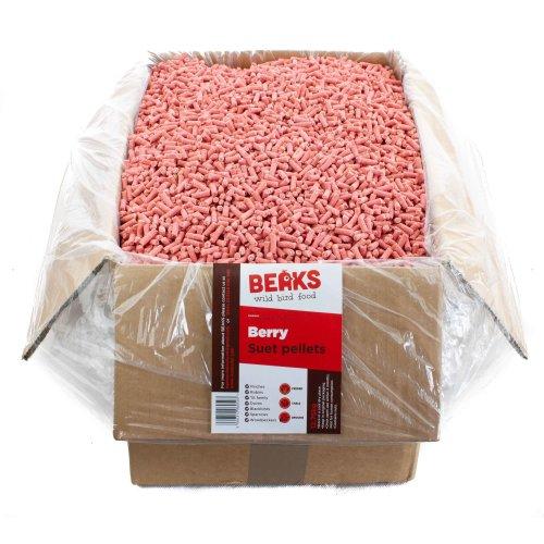 BEAKS Berry suet feed pellets for wild birds 12.75kg