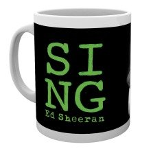 Ed Sheeran Close Up Mug
