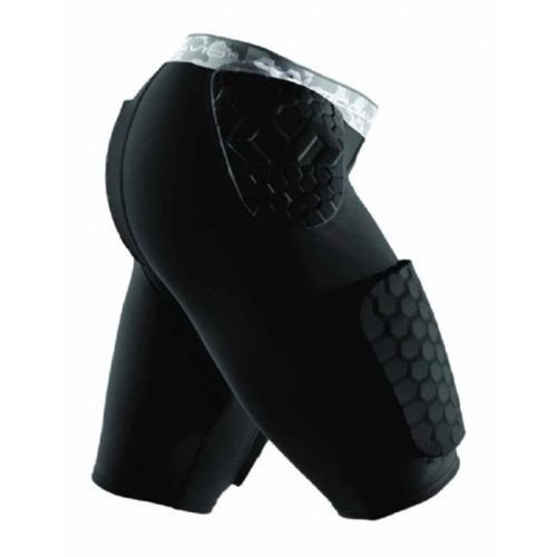 Mcdavid 1399833 Hex Dual-Density Thudd Short, Black - 3XL