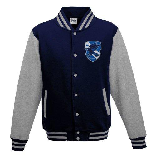 Women's Harry Potter Ravenclaw Crest Varsity Jacket: Large