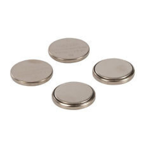 4pk Lithium Button Cell - Cr2032 Pmaster Battery 675789 -  lithium cell cr2032 4pk button pmaster battery 675789