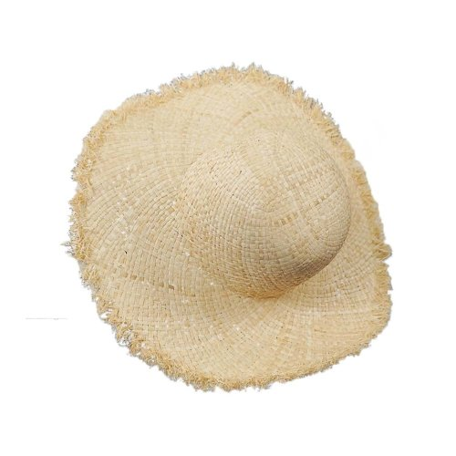 Womens Floppy Straw Hat Elegant Wide Brim Sun Visor Summer Beach UV Protection