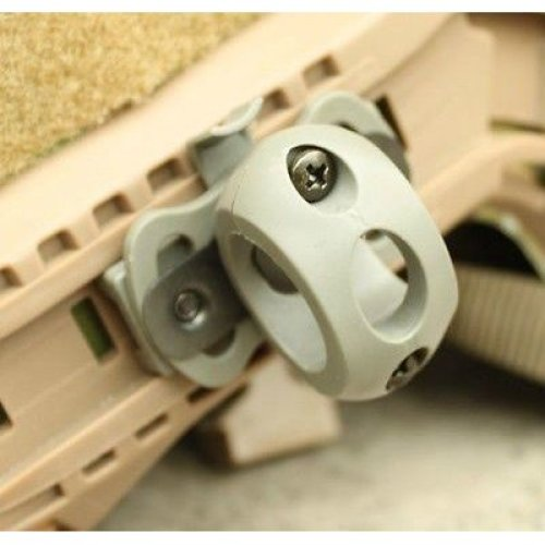 Airsoft Af Ops Core Helmet Torch Mount Green Od Fg For 20Mm Rail