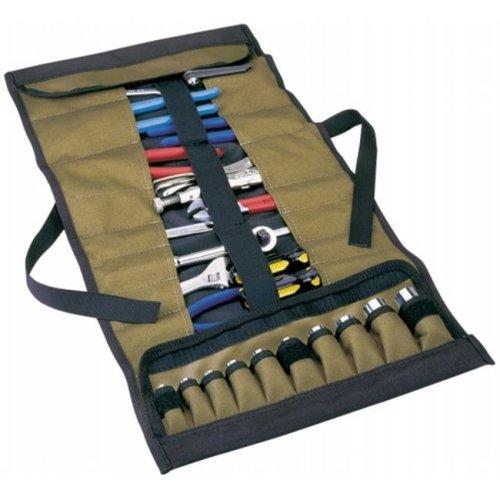 Custom Leathercraft 32 Pocket Socket & Tool Roll Pouch  1173