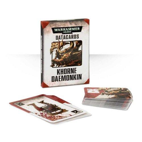 Games Workshop - Warhammer 40,000 - Datacards: Khorne Daemonkin