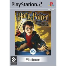 Harry Potter and the Chamber of Secrets - Harry Potter And The Chamber Of Secrets Platinum (PS2)