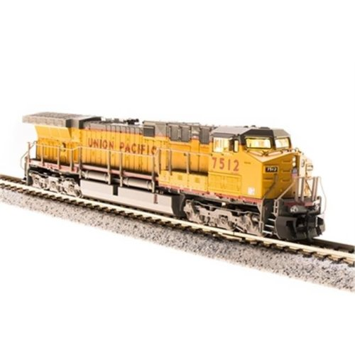 Broadway Limited Imports BLI3752 N Scale AC6000CW with DCC & Paragon 3, UP Model Train, No.7545