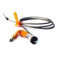 DELL 461-10054 Orange,Silver cable lock