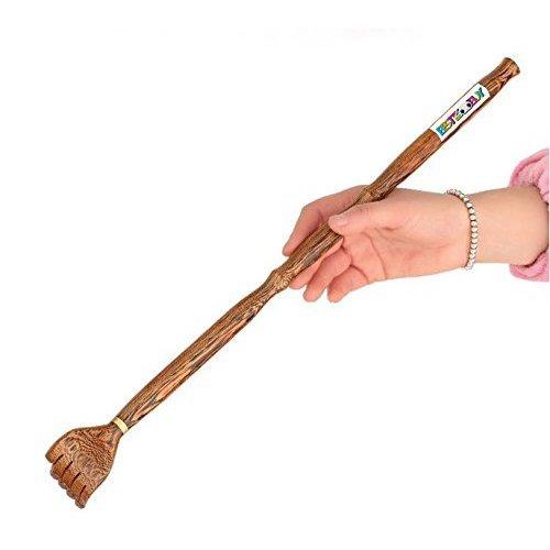 SOUSURER Back Scratcher Hand Claws Hand Extendable Itch Scratcher Health Wood Massager
