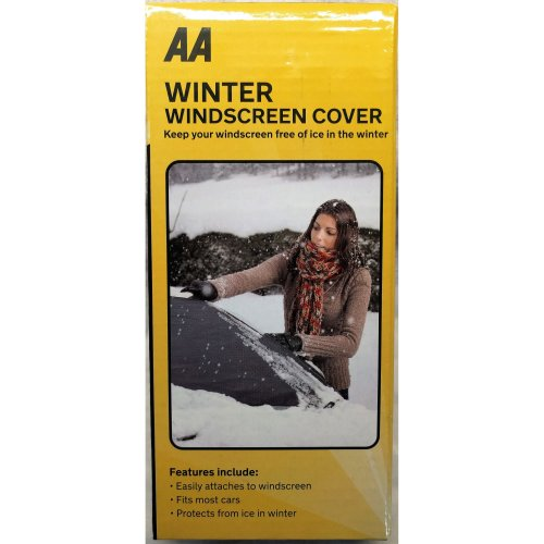 Winter Windscreen Cover AA Car Essentials 4022 Free of Ice Universal Size Easy