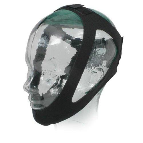 Sunset Healthcare Solutions CS003M Adjustable Chin Strap - Medium Black Neoprene, Medium