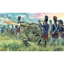 FRENCH IMPERIAL GUARD ARTILLERY (NAP. WARS) - SOLDIERS 1:72 - Italeri 6135