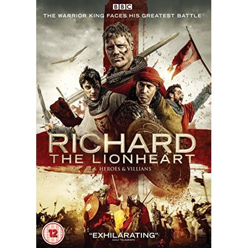 RICHARD THE LION HEAT HEROES and VILLAINS [DVD]
