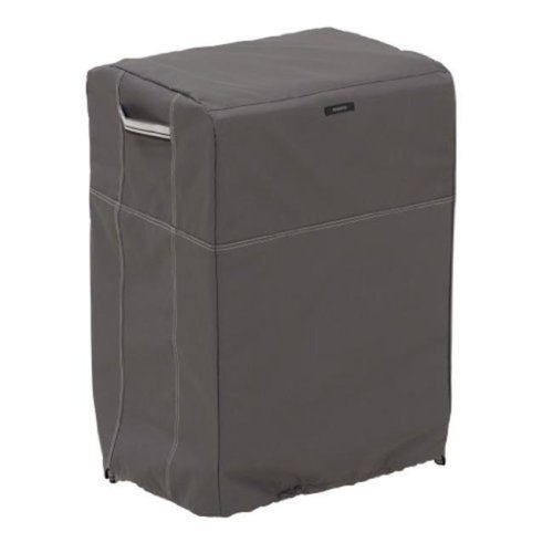 Classic Accessories 55-853-325101-EC Extra Large Smoker Cover Square, Taupe - Case of 8